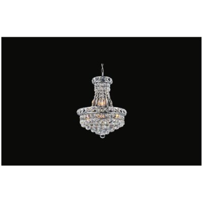 Luminous 8-Light Crystal Chandelier