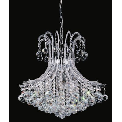 Idyllic 6-Light Crystal Chandelier