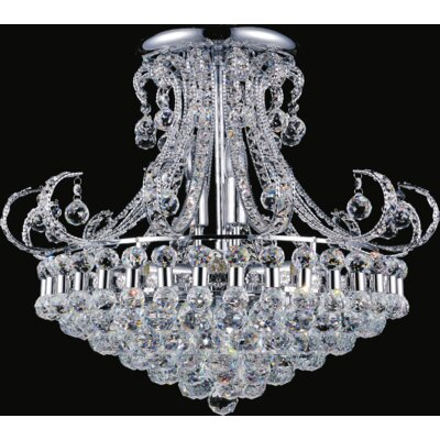 Mirthful 12-Light Semi Flush Mount