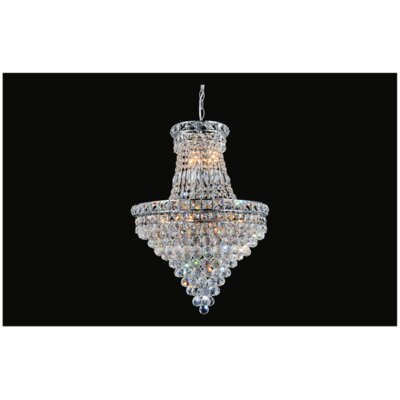Luminous 12-Light Empire Chandelier