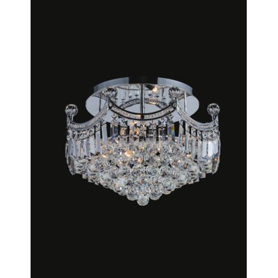 Amanda 6-Light Semi Flush Mount