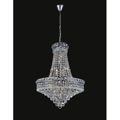 Luminous 14-Light Empire Chandelier