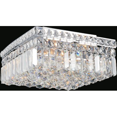 Navya 4-Light Flush Mount