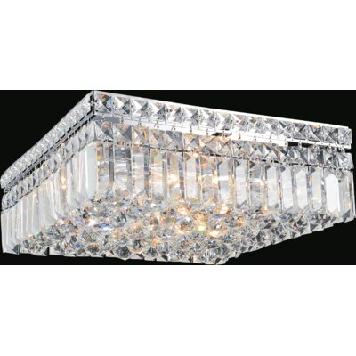 Navya 6-Light Flush Mount