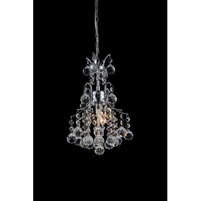 Princess 1-Light Crystal Chandelier