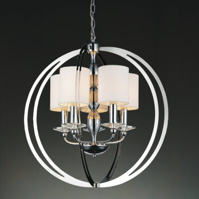 Pheonix 5-Light Globe Pendant