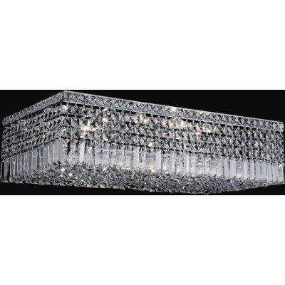 Elna 10-Light Flush Mount