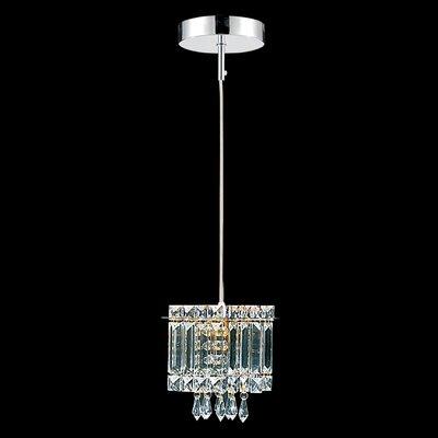 Schwartz 1-Light Crystal Pendant