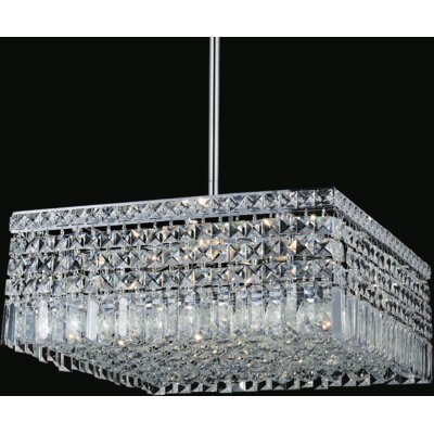 Navya Modern 10-Light Crystal Pendant