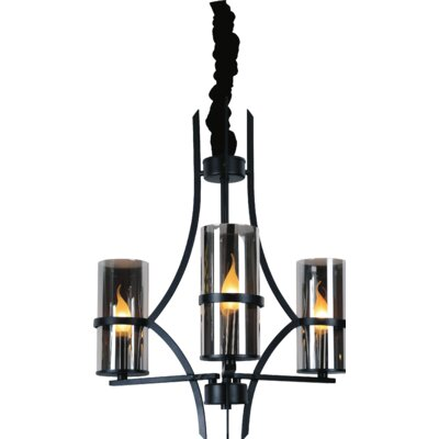 Vanna 3-Light Shaded Chandelier