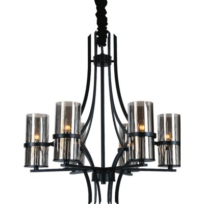 Vanna 6-Light Shaded Chandelier