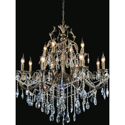 Barron 12-Light Candle-Style Chandelier