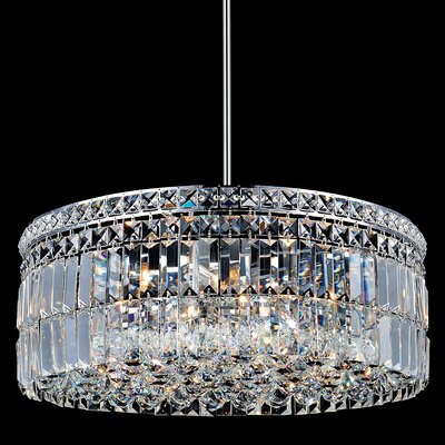 Navya 10-Light Crystal Pendant