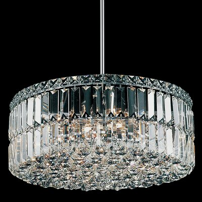 Navya 8-Light Crystal Pendant