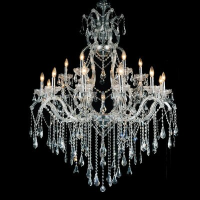 Atkinson 19-Light Candle-Style Chandelier