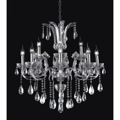 Combs 12-Light Candle-Style Chandelier