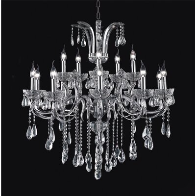 Combs 15-Light Candle-Style Chandelier
