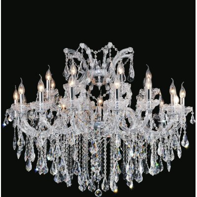 Orr 25-Light Candle-Style Chandelier