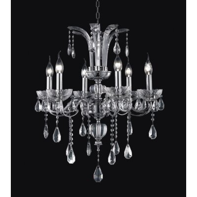 Riley 6-Light Candle-Style Chandelier