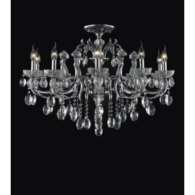 Combs 10-Light Semi Flush Mount