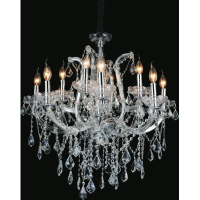 Barr 12-Light Candle-Style Chandelier
