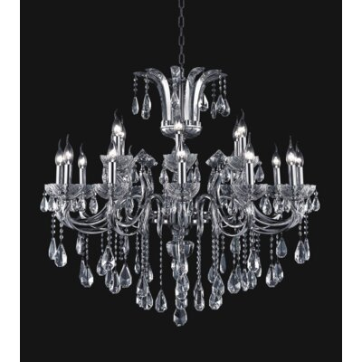 Riley 18-Light Candle-Style Chandelier