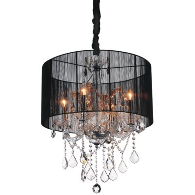 Orr 4-Light Drum Chandelier