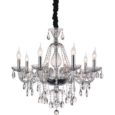 Xandra 8-Light Candle-Style Chandelier