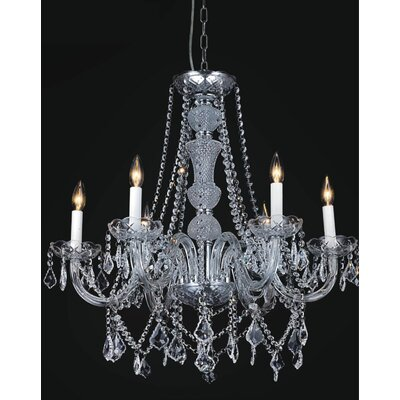 Yigal 12-Light Candle-Style Chandelier