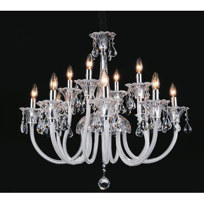 Waris 12-Light Candle-Style Chandelier