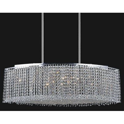 Glitz 15-Light Crystal Chandelier