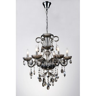 Bokard 6-Light Candle-Style Chandelier