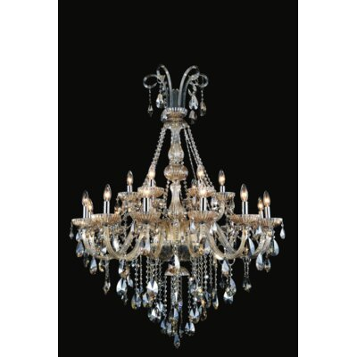 Yves 18-Light Candle-Style Chandelier