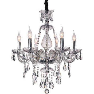 Xandra 6-Light Candle-Style Chandelier