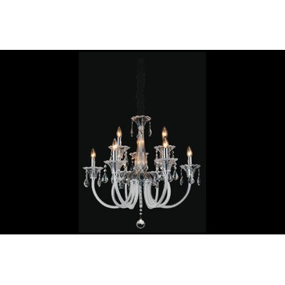 Waris 9-Light Candle-Style Chandelier