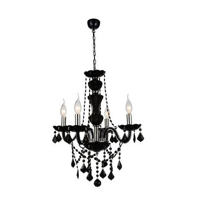 Bokara Hills 5-Light Black Candle-Style Chandelier