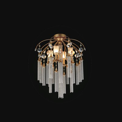 Cierra 7-Light Semi Flush Mount Finish: Gold