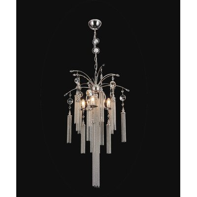 Cierra 5-Light Crystal Chandelier
