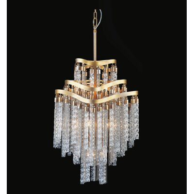 Anemone 10-Light Empire Chandelier Finish: Gold
