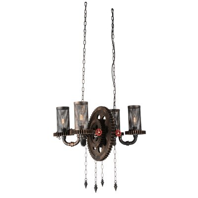 Shea 4-Light Branched Chandelier