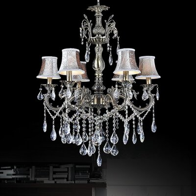 Velez 6-Light Shaded Chandelier