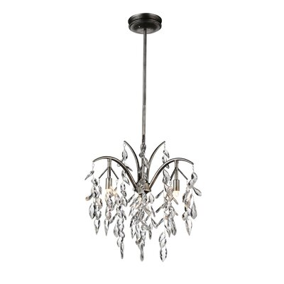 Napan 3-Light Crystal Pendant