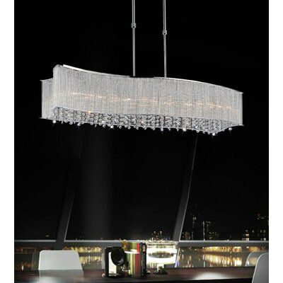 Elsa 6-Light Crystal Chandelier
