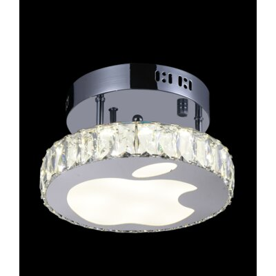12-Light LED Flush Mount