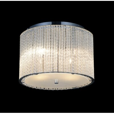 4-Light LED Flush Mount