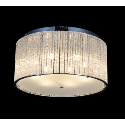 6-Light LED Flush Mount
