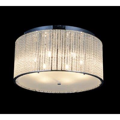 6-Light LED Flush Mount