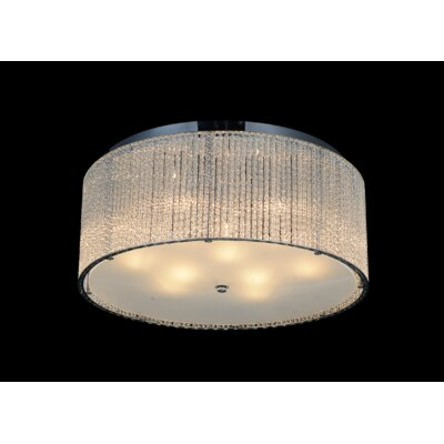 9-Light LED Flush Mount