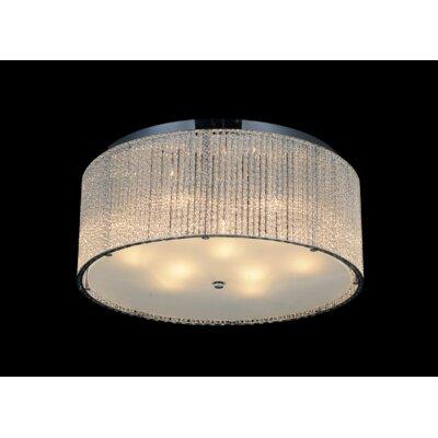 9-Light LED Flush Mount