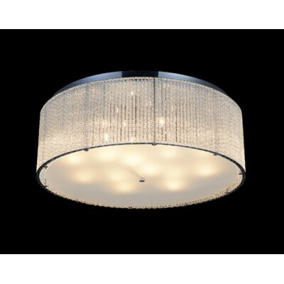 14-Light LED Flush Mount